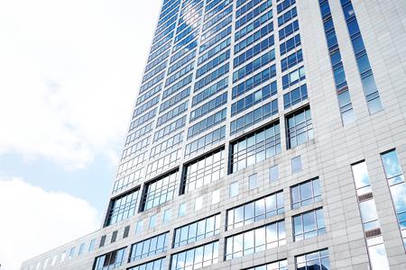 Modern office corporate building in Katowice, Silesia, Poland