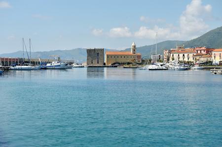 Port of Acciaroli, National Park of Cilento. Salerno. Southern Italy