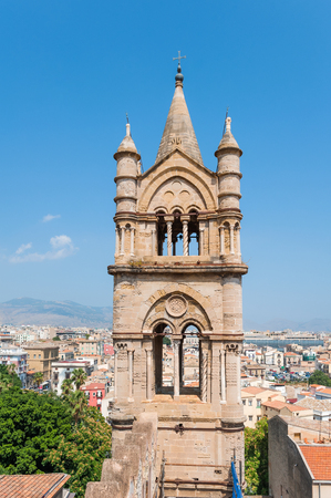 Arab-Norman architectural style of Palermo Cathedral Santa Vergine Maria Assunta.