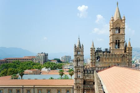 Arab-Norman architectural style of Palermo Cathedral Santa Vergine Maria Assunta.