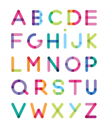 color alphabets