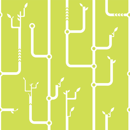 thickets of wires seamless pattern