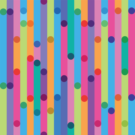 bright seamless pattern from strips Illustration