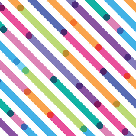 bright color strips on a diagonal seamless pattern Illustration