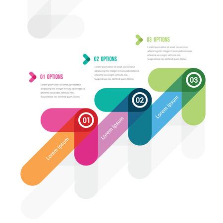 세 화살표에서 사다리 형태 단계별 지시