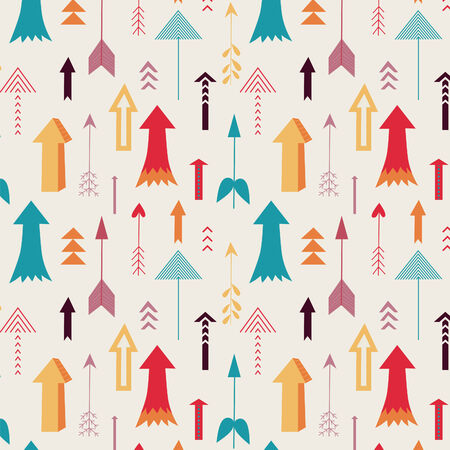 arrows directing up seamless pattern