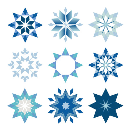 prickly: prickly snowflakes