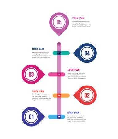 정보의 제출 서식의 현대적인 디자인