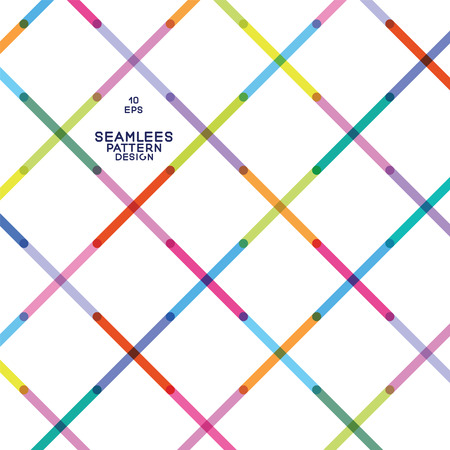 seamless pattern from colorful strips