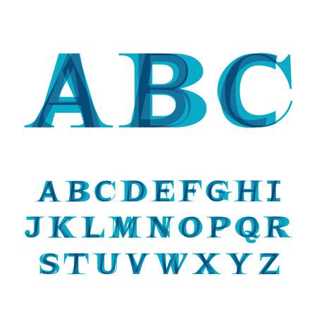 La police composé de trois lettres Banque d'images - 33503407
