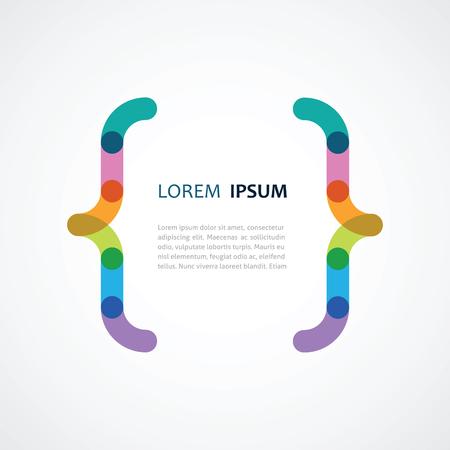 conception d'un support de la couleur Vecteurs