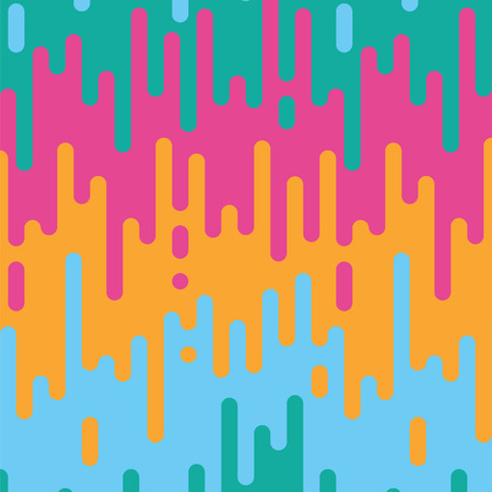 the bright streaming paint a seamless pattern Illustration