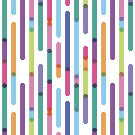 el color de las tiras verticales interrumpidas con efecto de transparencia Ilustración de vector