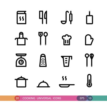 universal: cooking universal icons
