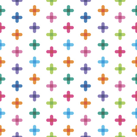 seamless: seamless pattern from  crosses Illustration
