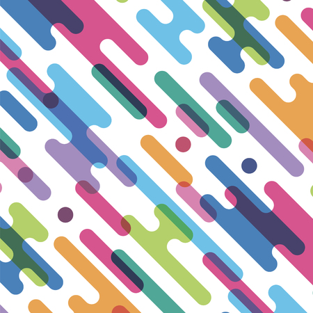 seamless pattern with abstract color spots