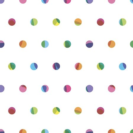circles pattern: small bright circles seamless pattern
