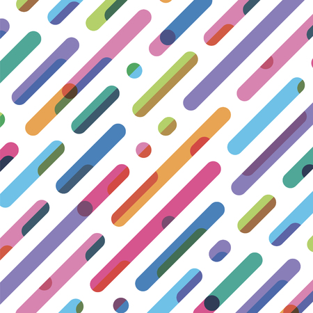 abstract diagonal seamless striped pattern Illustration