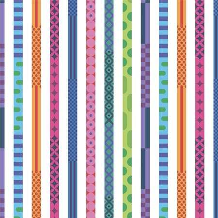 bright seamless pattern a strip with an ornament