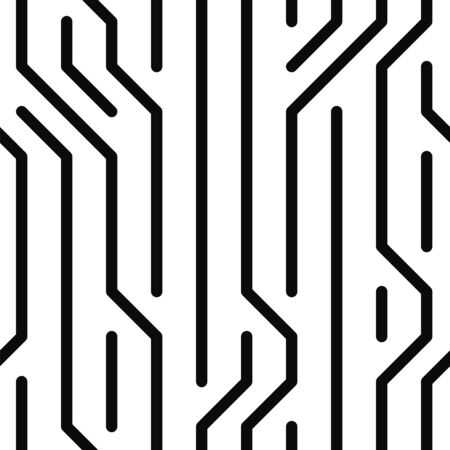broken lines which are randomly located a seamless pattern
