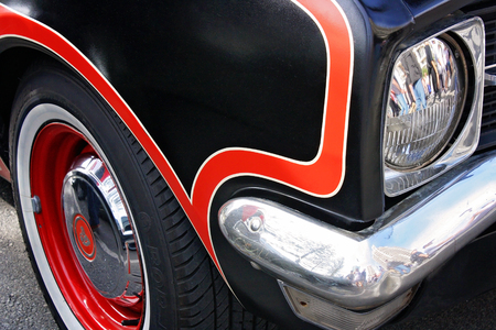 front end: classic car front end