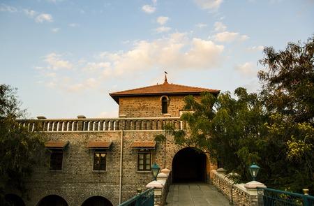 samadhi: Meherabad, ashram established by Meher Baba near Arangaon Village, India.