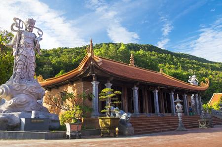 Ho Quoc pagoda, Phu Quoc island. Vietnam