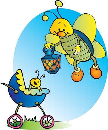 lady beetle: Baby boy arrival.