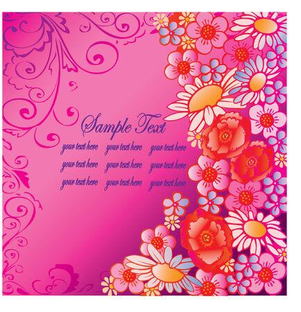 buttercup  decorative: flowers vector illustration Illustration
