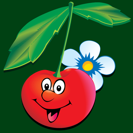fruited: Lively cherry.