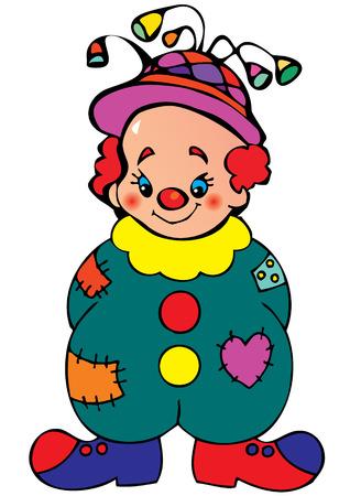 giullare: Divertente clown.