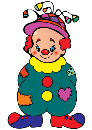 stage costume: Funny clown.