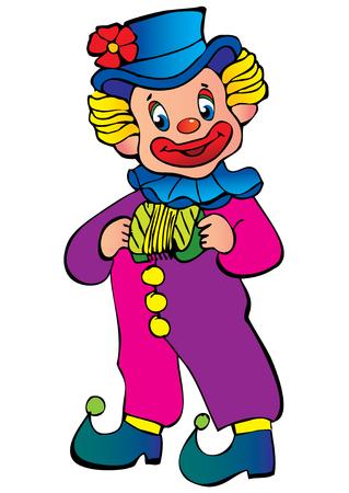 comedian: Funny clown.
