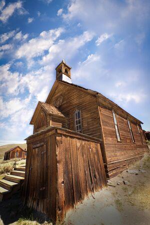 bodie: Church in Bodie Historic State Park