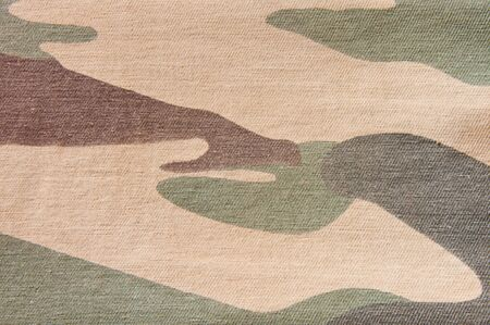 Texture of soldier cloth background, Camouflage pattern photo