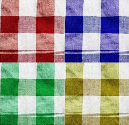 Colourful texture of thai style loincloth