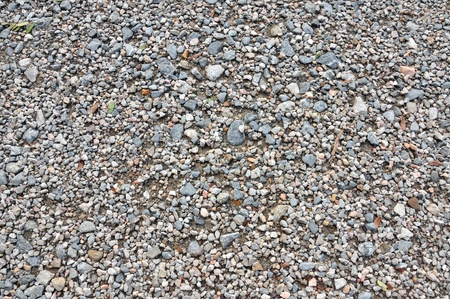 Closeup of gravel