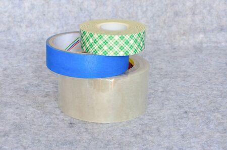 stack of scotch tape