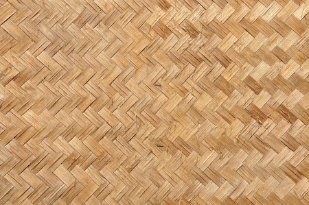 Textur aus Bambus weben