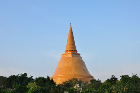 PHRA PRATHOM JEDI, The biggest Pagoda of Thailand, Thai Heritage Treasury photo