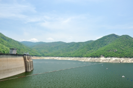 Bhumiphol dam in Tak, Thailand, Hydro Power Electric Dam