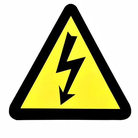 High Voltage Sign photo
