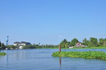 Landscape of riverside, Thailand photo