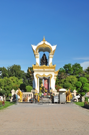 nakhon pathom: Ganesh memorial at Sanam Chandra Palace, Nakhon pathom, Thailand  Stock Photo