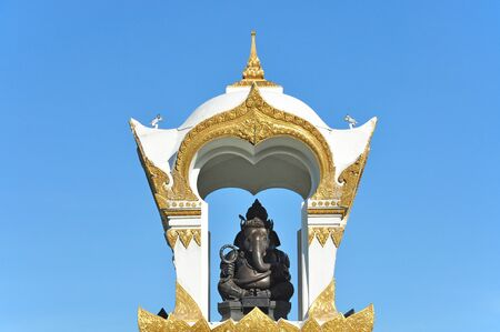 Ganesh memorial at Sanam Chandra Palace, Nakhon pathom, Thailand  photo