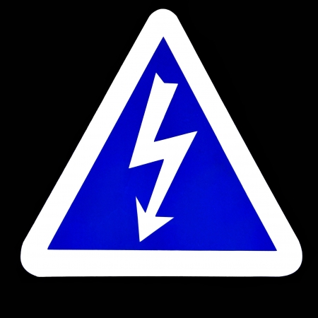 High Voltage Sign, Symbol Stock Photo - 15319742