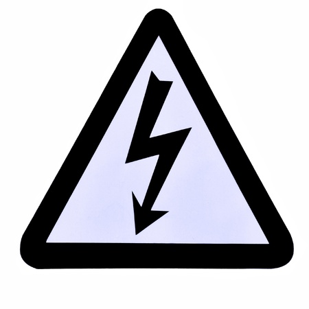 High Voltage Sign, Symbol Stock Photo - 15319748