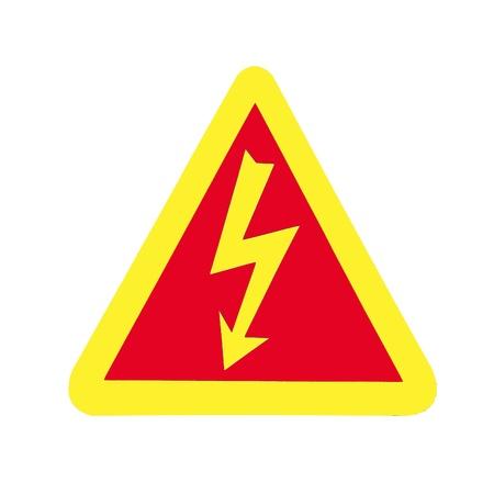High Voltage Sign, Symbol Stock Photo - 15544405