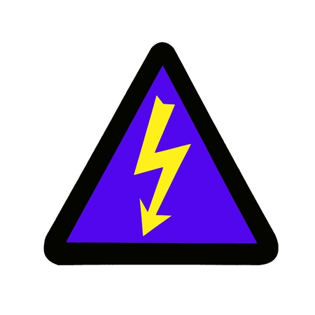 High Voltage Sign, Symbol Stock Photo - 15544401