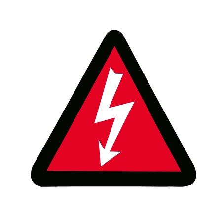 High Voltage Sign, Symbol Stock Photo